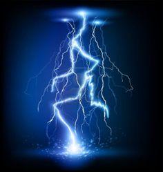 Lightning strike trio