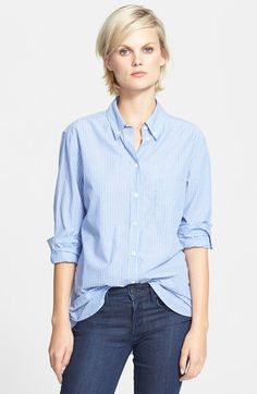 Equipment+'Margaux'+Stripe+Cotton+Shirt+available+at+#Nordstrom