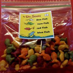 Easy Dr. Seuss snack :)