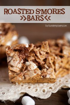 roasted s'mores bars recipe