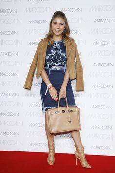 Pin for Later: Seht alle Stars bei der Berlin Fashion Week Victoria Swarovski bei der Modenschau von Marc Cain