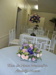 Mar de Rosas Decorações Lindolfo Soares: Arranjos para mesas dos convidados
