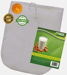 Nut Milk Bag Giveaway