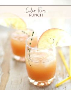 Fall is all about spending time with the ones you love and enjoying the festivities of holiday time! Serve up this perfect Cider Rum Punch at your next get together!