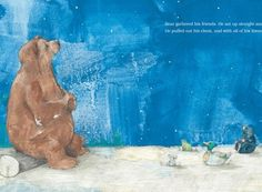 Bear Has a Story to Tell by Philip Stead, with illustrations by Erin Stead