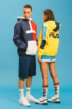 FILA – SS'16 BLACK LINE COLLECTION | BE STREET™
