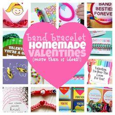 18 Band Bracelet Valentines for Kids to Make & Give - Kids Activities Blog