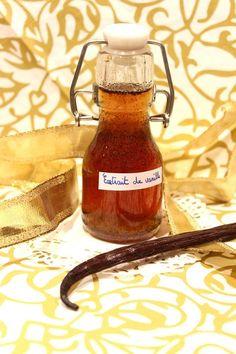 Extrait de vanille liquide maison (idée de cadeau gourmand)