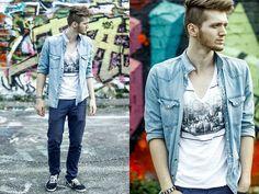 bohemian style men's clothing