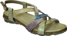 Women's+Napa+Flex+Aria+Ankle+Strap+Sandal+-+Beige/Multi+with+FREE+Shipping+&+Exchanges.+Walk+in+comfort+and+style+with+the+Aria+Flat+Ankle+Strap+Sandal.+The+