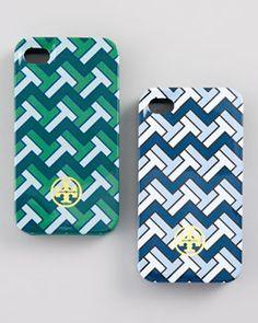 Tory Burch iPhone case, zoo cute!