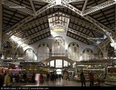 Valencia, Spain -  Mercado central