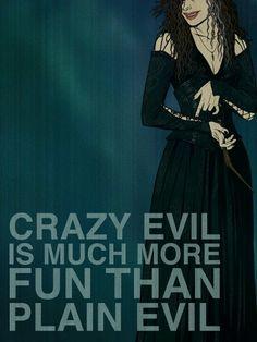 Bellatrix - Villain Affirmation Posters by Christopher Ables