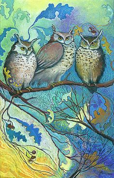 'Good Morning Hoot' by Jane Wilcoxson