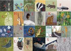 Postkarte mit Illustration von Judith Etzold 100% Recyclingpapier