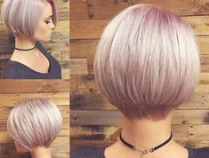 Today we have the most stylish 86 Cute Short Pixie Haircuts. We claim that you have never seen such elegant and eye-catching short hairstyles before. Pixie haircut, of course, offers a lot of options for the hair of the ladies'… Continue Reading → Bob Haircut For Fine Hair, Short Hair With Bangs, Short Hair Cuts For Women, Long Hair Cuts, Short Stacked Hair, Short Cuts, Girls Short Haircuts, Short Layered Haircuts, Long Bob Hairstyles