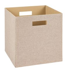 ClosetMaid 7114 Decorative Fabric Storage Bin, Tan