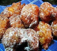 One Perfect Bite: Yeasted Apple Fritters