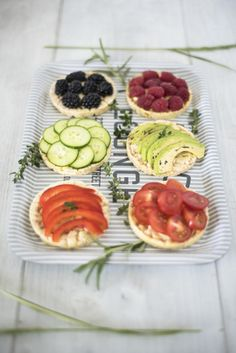 Glutenfree bread with fruits and vegetables photo by ckahr.com #foodphotography Fruits And Vegetables, Glutenfree, Sushi, Food Photography, Healthy Eating, Bread, Ethnic Recipes, Cherries, Eat Lunch
