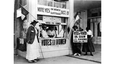 Part of the first wave of feminism, The Suffragettes—predominantly in the United States and the United Kingdom—fought for women's rights, primarily the right to vote. Their movements and protests, both peaceful and radical, allowed for the nationwide right for women to vote in 1920. Some of the most notable women in the movement? Susan B. Anthony, Alice Stone Blackwell, Helen Keller and more.    - HarpersBAZAAR.com