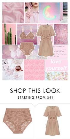 """la vie en rose"" by fitsur ❤ liked on Polyvore featuring Lonely"