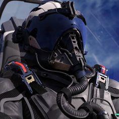 ArtStation - FIGHTER PILOT WIP, David de Leon