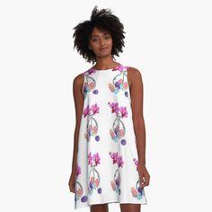 Vintage Pattern Design, Pattern Art, Cute Pineapple, Sunflower Pattern, Vogue, Floral Stripe, Modern Prints, Pink Flamingos, Colorful Flowers