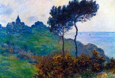 Amazon.com: (13x19) Claude Monet Church at Varengeville Art Print Poster: Home & Kitchen