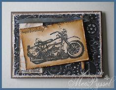 Maskunline birthday card – MC | Meo's Pysselblogg