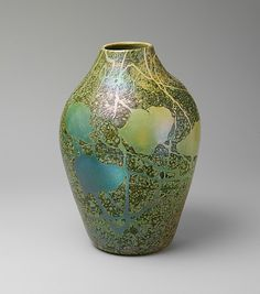 Cypriote Vase by Louis Comfort Tiffany (American, New York City 1848–1933 New York City), ca. 1897