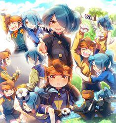 They are best friends. Nathan Swift, Manga, Stray Dogs Anime, Inazuma Eleven Go, Best Series, Boy Art, Chibi, Concept Art, Anime Art