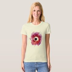 Poppy Women's American Apparel Organic T-Shirt #2  $25.30  by Efroni_Bird  - cyo customize personalize diy idea