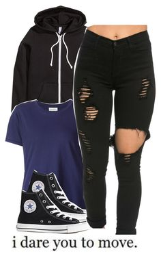 """Let's play......."" by alondrauribe ❤ liked on Polyvore featuring H&M, Beau Souci and Converse"