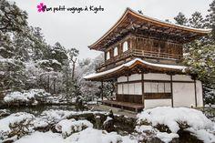 Des photos du temple Ginkakuji sous la neige c'est sur :  http://voyageakyoto.fr/ginkaku-ji-sous-la-neige/  #Kyoto #Ginkakuji #Japon