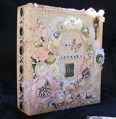 Vintage style binder album