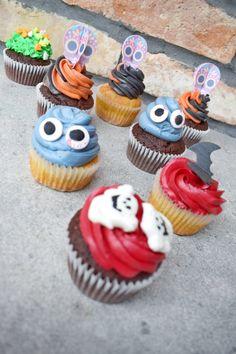 Halloween cupcake - Tejturmix Halloween Cupcakes, Coconut Shrimp, Lidl, Cauliflower Rice, Macarons, Desserts, Muffin, Recipes, Food
