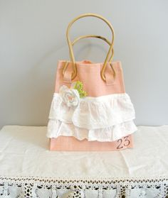 Upcycled Vintage Tote Bag by LittleVintageCottage on Etsy