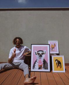 Fashion Blogger Edoardo Chuck in his ARISTOTELI BITSIANI total outfit 🍦