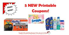Be sure to print the 5 NEW Printable Coupons that were released this morning! Awesome savings you won't want to miss!  Click the link below to get all of the details ► http://www.thecouponingcouple.com/5-new-printable-coupons-6-9-17/ #Coupons #Couponing #CouponCommunity  Visit us at http://www.thecouponingcouple.com for more great posts!