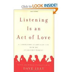 listening is an act of love $16.47