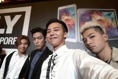 Samsung Mobile Singapore Facebook gdragon gd jiyong taeyang youngbae yb bebe sol top dlite daesung bigbang bb seungri