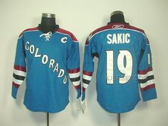 http://www.xjersey.com/avalanche-19-joe-sakic-blue-c-patch-jerseys.html AVALANCHE 19 JOE SAKIC BLUE C PATCH JERSEYS Only $46.00 , Free Shipping!