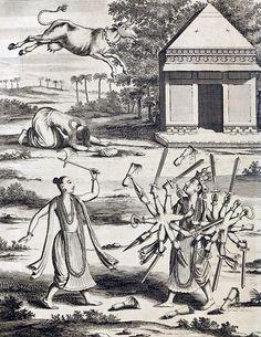 Philipp Baldaeus - Wahrhaftige ausführliche beschreibung der berühmten ostindischen kusten Malabar und Coromandel, als auch der insel Zeylon (1672).