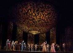 The Opulent Sets of the Metropolitan Opera's Die Fledermaus Recreates Fin de Siècle Vienna