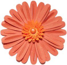 Silhouette Design Store: 3d flower - gerbera daisy #27040