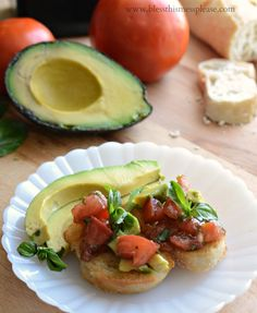Avocado Bruschetta and other awesome appetizer recipes