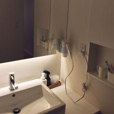 Bathroom/無印良品/洗面所/100均/100均アイテム/ホテルライク...などのインテリア実例 - 2016-07-04 14:53:43