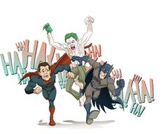 joker will pan the two together by bypaulo