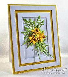 KC Elizabeth Craft Susan Garden  1 38 Inch and Mini Daffodils left