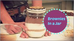 In a Jar // I brownies